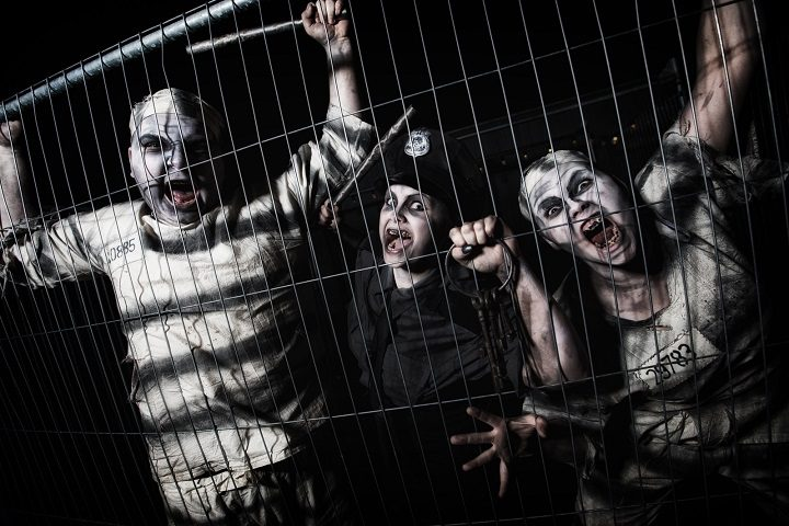 Some of the characters waiting to meet you at Scare Kingdom