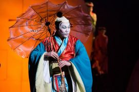 Madama Butterfly being performed
