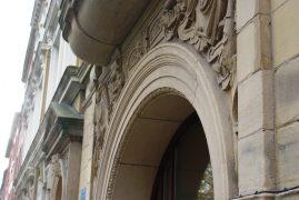 Ornate arch in Winckley Square