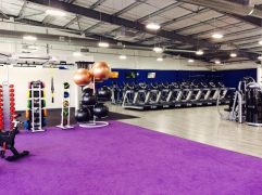 Inside the Places gym in Bamber Bridge