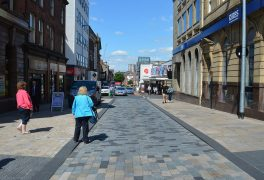 Looking down Lune Street Pic: Tony Worrall