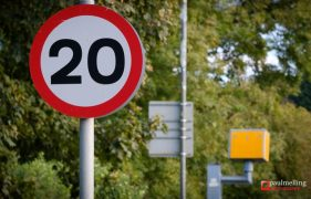 The 20mph zone will run through the centre of Broughton Pic: Paul Melling