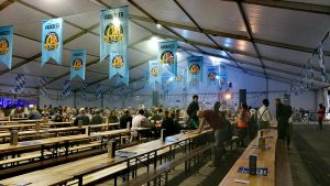 A view inside the beer hall on Friday afternoon Pic: Benny Mc'Nally/Preston Chatterbox