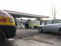 Bomb squad in London Road