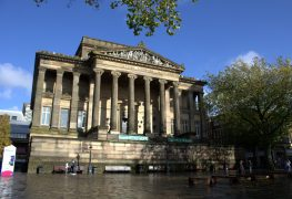 Front of the Harris Museum in Preston city centre Pic: Tony Worrall