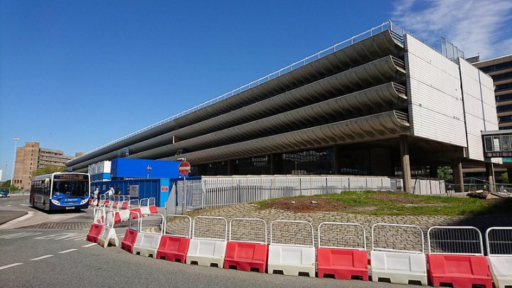 Preston Bus Station undergoing major work Pic: WesternSMT