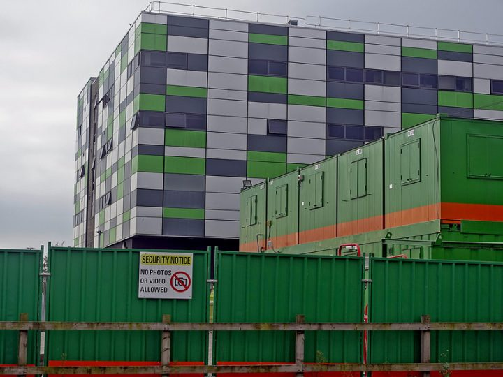 The university is currently embarking on a £200million investment in its Preston campus Pic: 70023venus2009