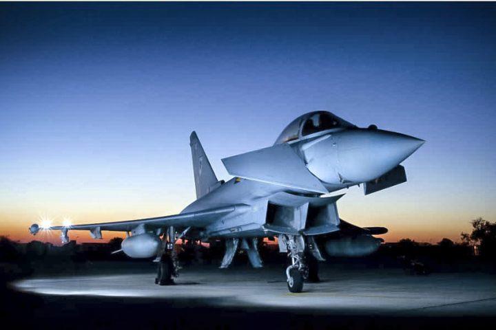 The Typhoon is made at Warton and Samlesbury