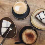 Coffee and cakes at the new Harris cafe Pic:HarrisMuseum