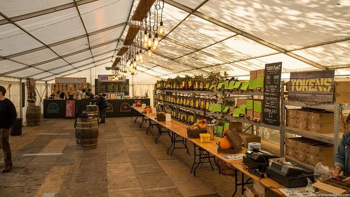 What's known as the Tipple Tent at the Conti Beer Festival
