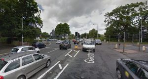 The junction near Moor Park has become gridlocked Pic: Google (when the lights were on)