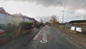 Greaves Town Lane where the collision is said to have taken place Pic: Google