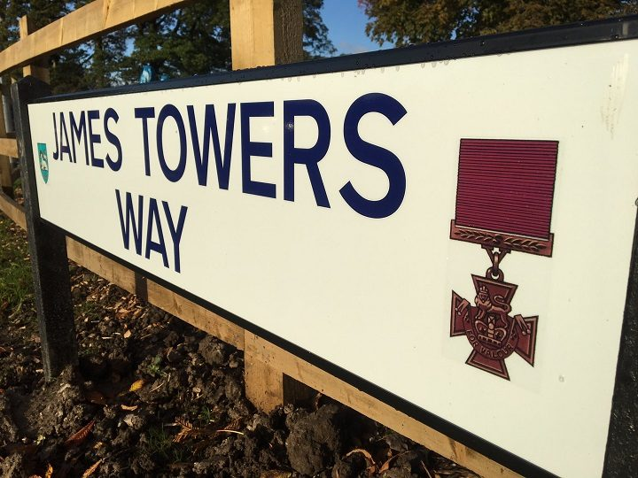 The road is named after a Broughton man who fought in the First World War