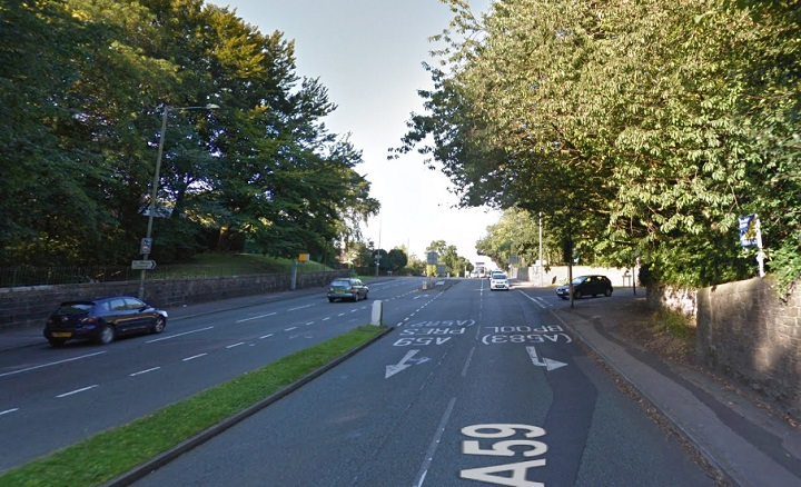 Kingsway turn into Liverpool Road Pic: Google