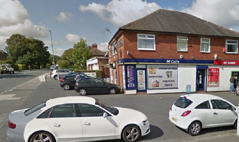 Google image of the store in Penwortham