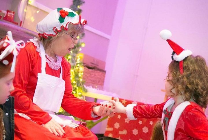 Mrs Claus will read a festive story