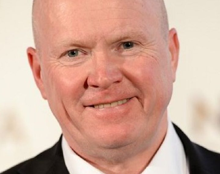Soap actor Steve McFadden joins the Christmas lights switch on