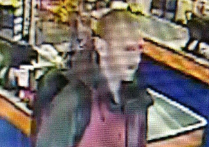 CCTV image shows the man police want to speak to