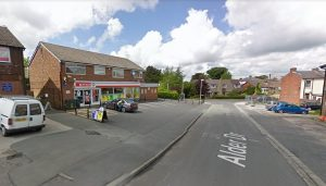 The Spar store was 'targeted' by the gang according to police Pic: Google