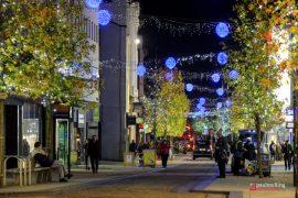 Christmas lights in Fishergate