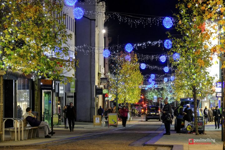 Christmas lights in Fishergate