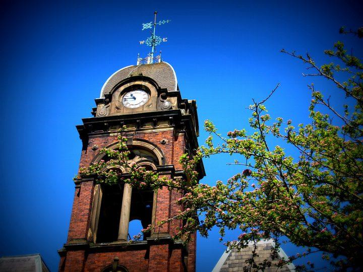 Clock tower in Watling Street Road Pic: Tony Worrall