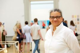 Lubaina Himid moved to Preston in the 1980s and has carved out her artistic career here