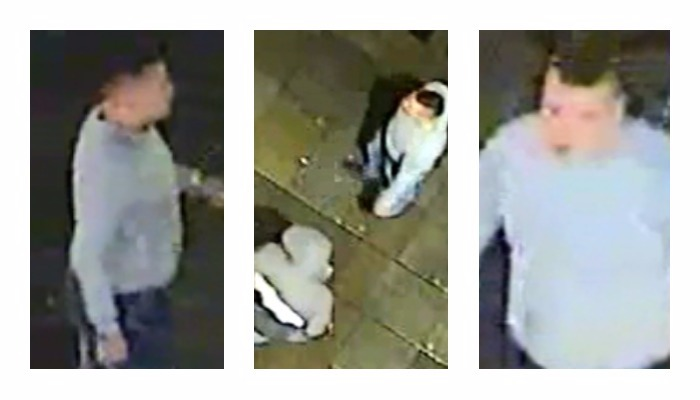 Police want to speak to two men in connection with the attack in Preston city centre