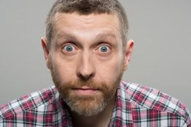 Dave Gorman is making his return to Preston