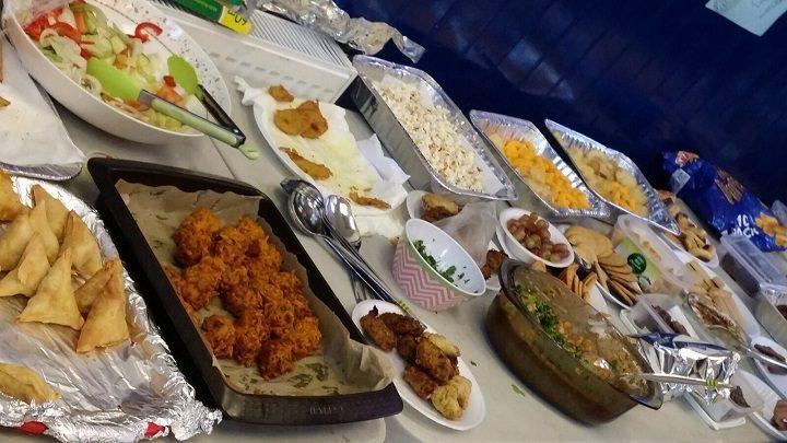 Interfaith feast in Shepherd Street