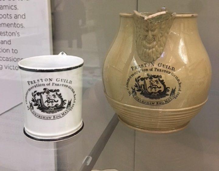 The 1822 jug and mug in the Harris