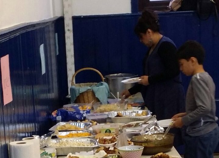 Tucking in at the feast for faiths