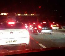M6 delays after the M55 junction