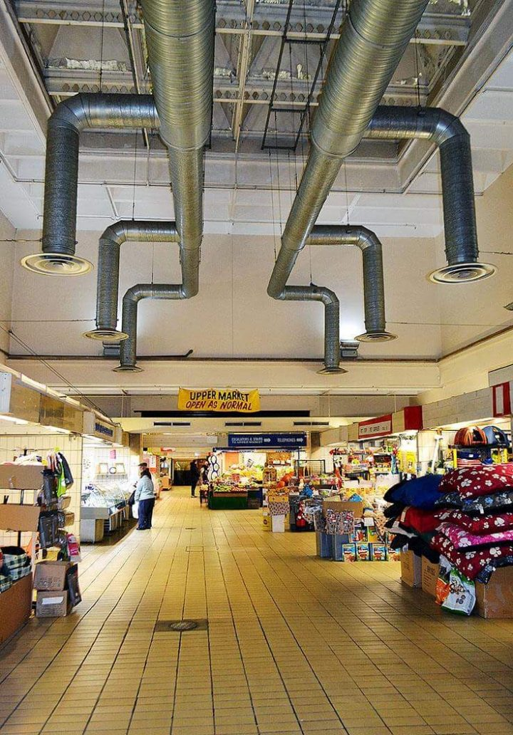 Market roof Pic: Joseph Gudgeon