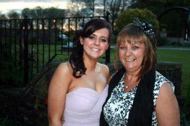 Natalie Spencer with her mum Gabrielle