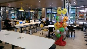 Inside the McDonalds in the Capitol Centre