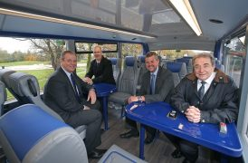 Inside the new look Stagecoach buses Pic: Gareth Jones