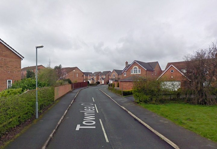 Townlea Close in Penwortham where the fire happened Pic: Google