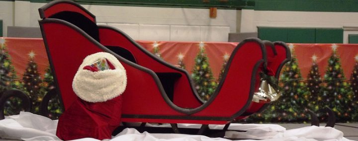 Santa's sleigh will be making its way round the streets of Gregson Green