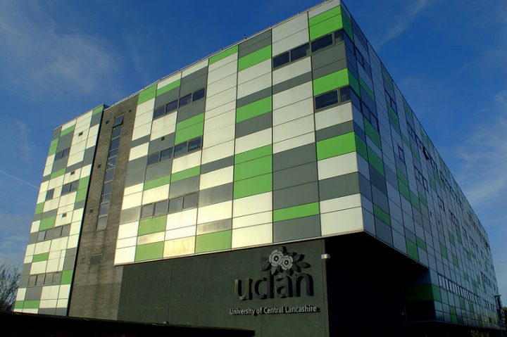 The Media Factory building at the University of Central Lancashire Pic: Tony Worrall