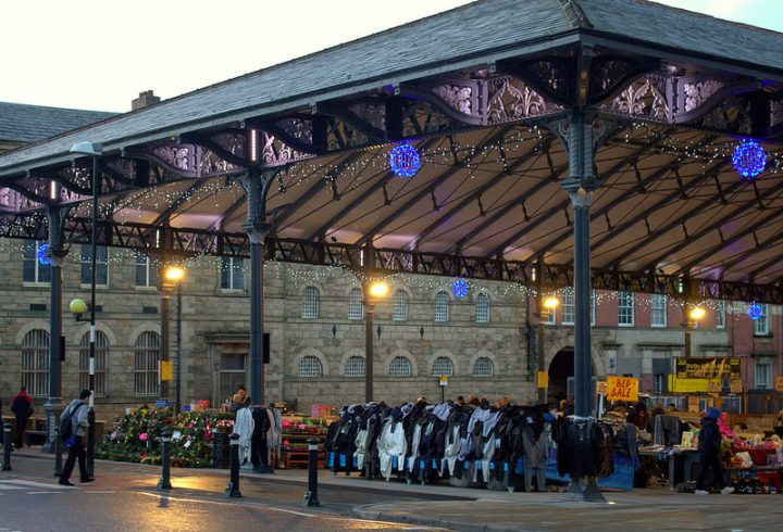 The new market is due to open in February Pic: Tony Worrall