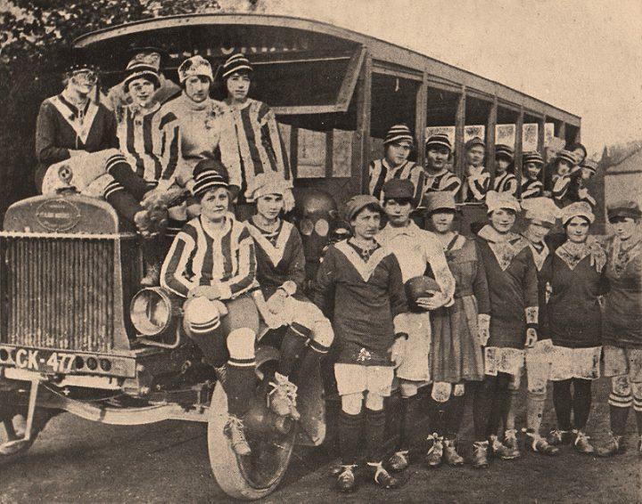 Dick Kerr's Ladies Football Team, Preston 1920 Pic: Preston Digital Archive