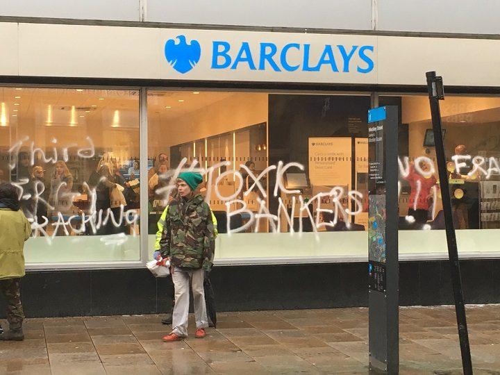 The scene in Fishergate Pic: Antony Lloyd