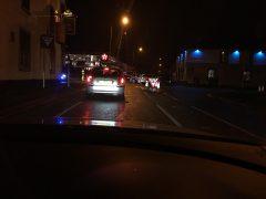 Broughton crossroads crash on Monday evening
