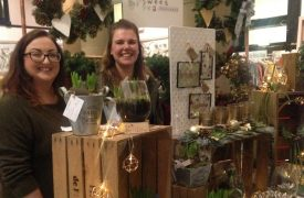 Happy stallholders at this year's Etsy made local market