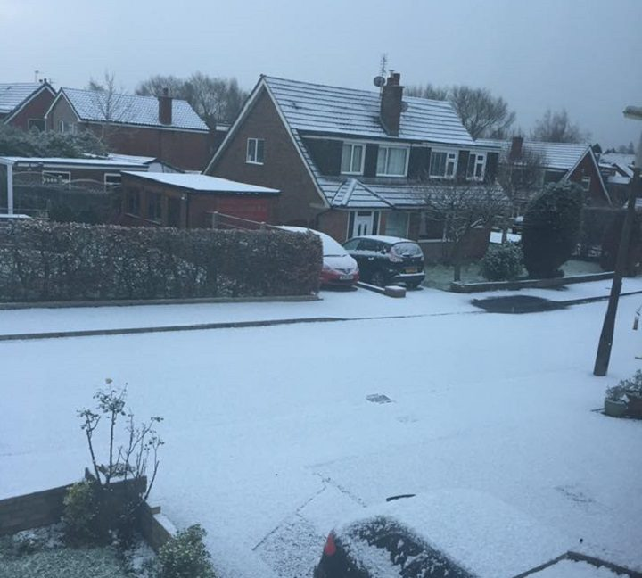 Fulwood looking heavy with snow Pic: Julie Marie