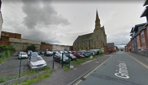 Grimshaw Street would see the new flats built Pic: Google