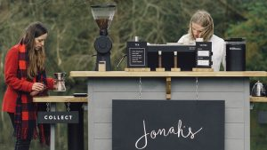 Jonah's coffee is a mobile cart - and now they want a permanent home