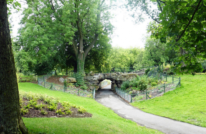 Restoration work has been ongoing in the park in the last 18 months Pic: Jim Beattie