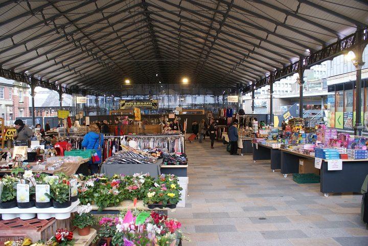 Preston Outdoor Market Traders Return Under Its Cover